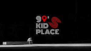 90's kids place logo podcast