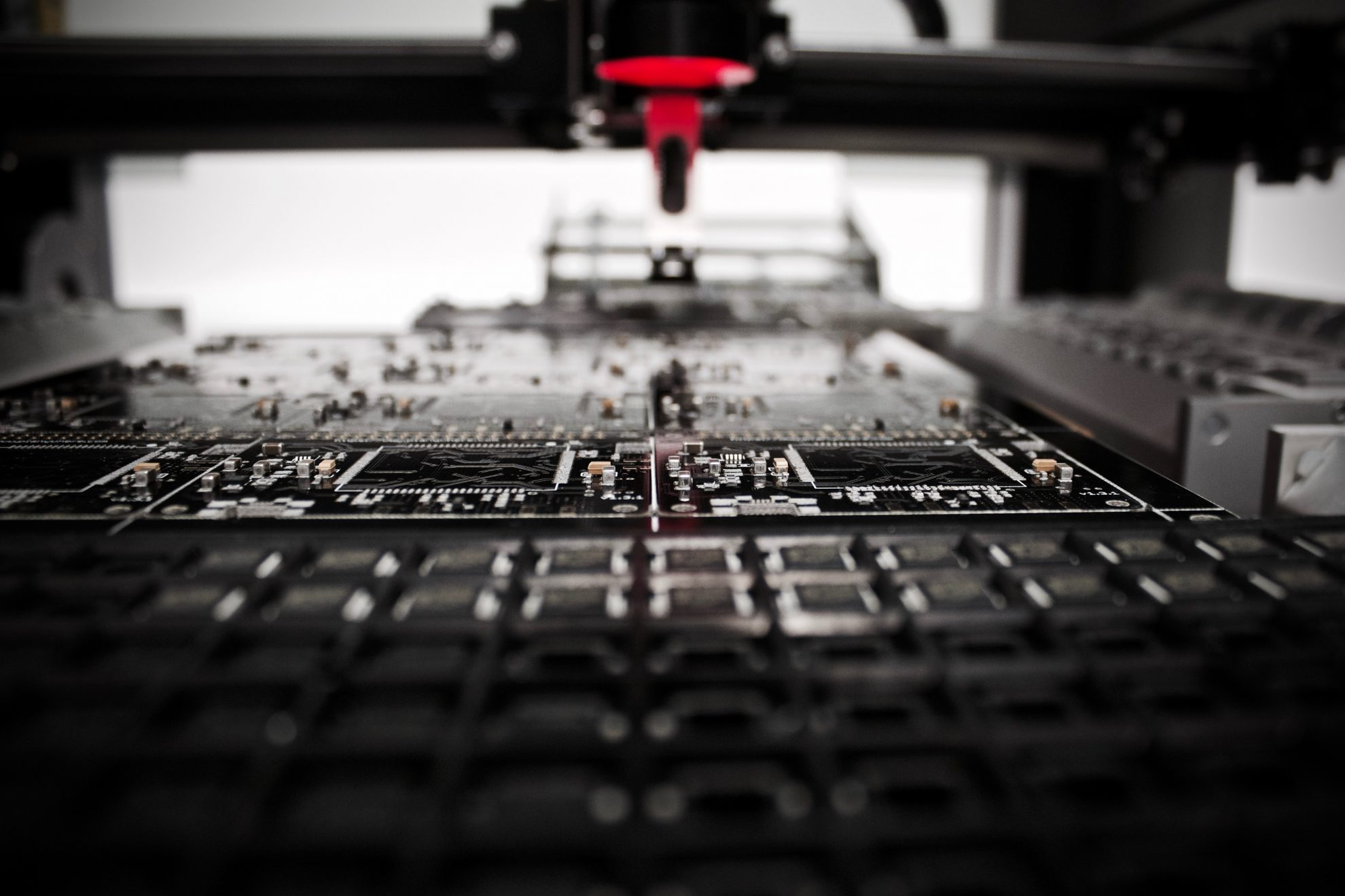 robotics fabrication boards transistors