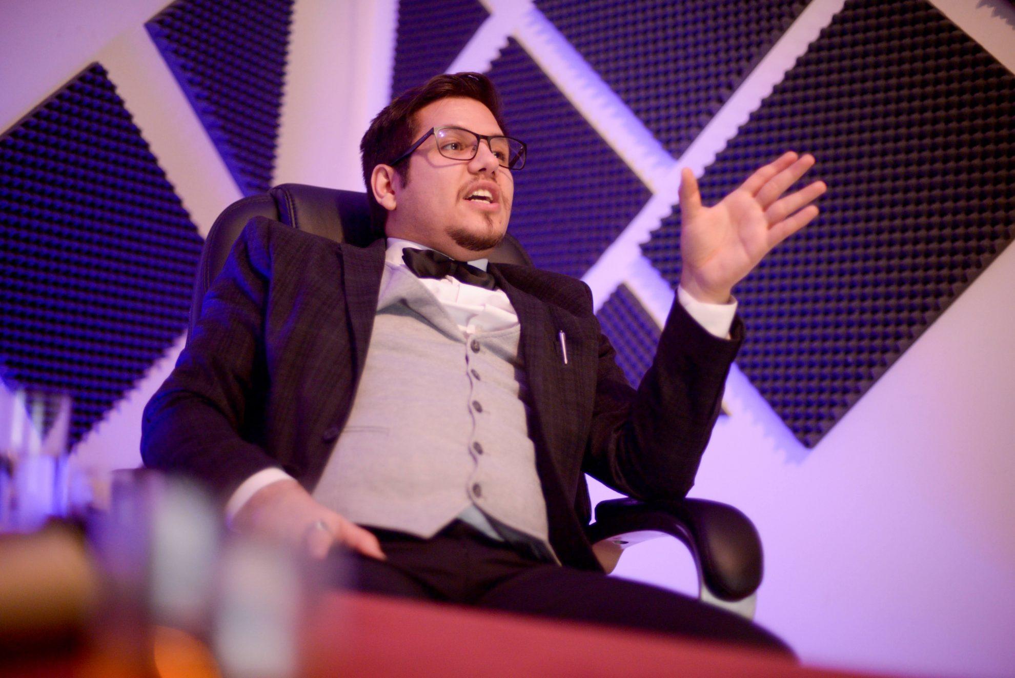 man in a suit dilyan georgiev дилян георгиев